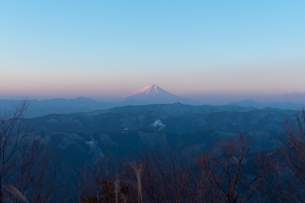 HAPPY NEW YEAR 御岳山〜大岳山