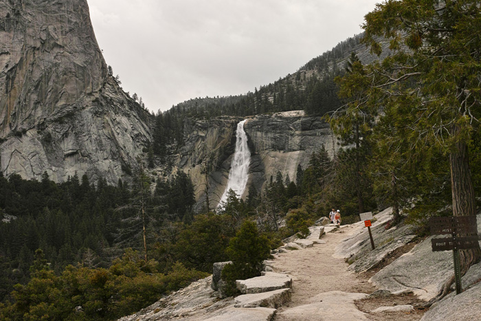 In Yosemite MT&JMT ネバダ・フォール