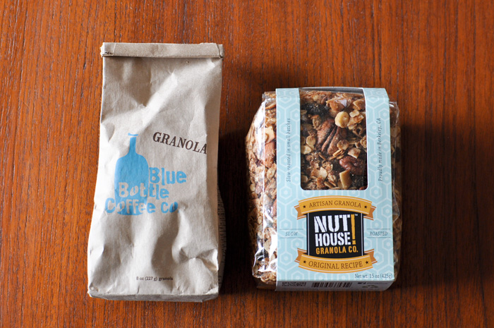 Blue Bottle CoffeeとNUT!HOUSEのグラノーラ