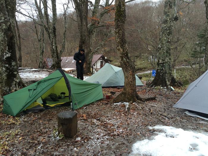 冬の大菩薩峠でテント泊