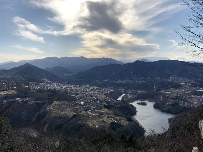 稲荷山コースから南高尾へ、トレイルランニング