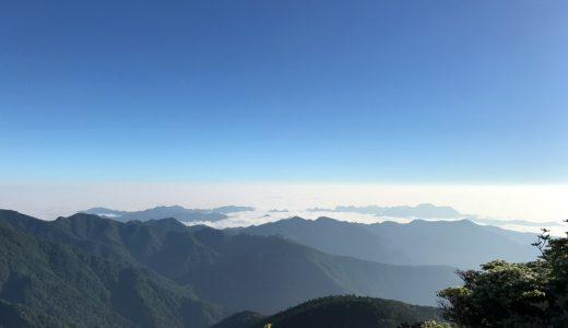 分水嶺トレイル2日目 雁坂峠から富士見平まで