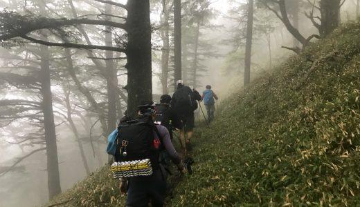 3日間通して雨。2019年の分水嶺トレイル