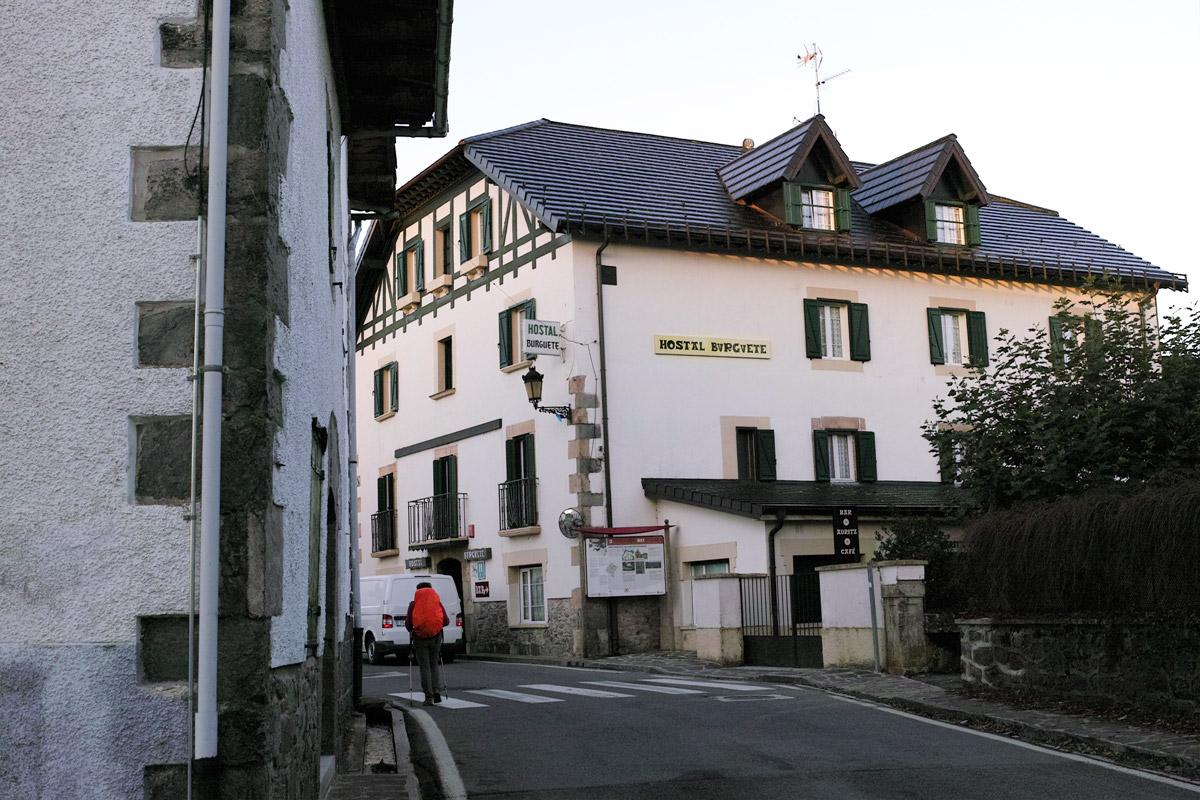 バスクのホテル
