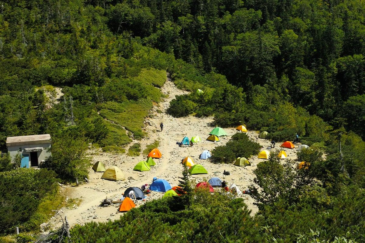 太郎平キャンプ場
