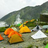 北岳テント